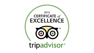 trip advisor certificate excellence 2016
