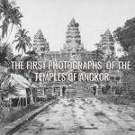 old pictures angkor wat temple cambodia
