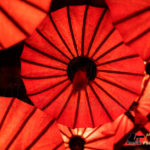 red lanterns ancient house