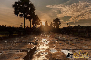 Angkor wat sunrise causeway photography tour