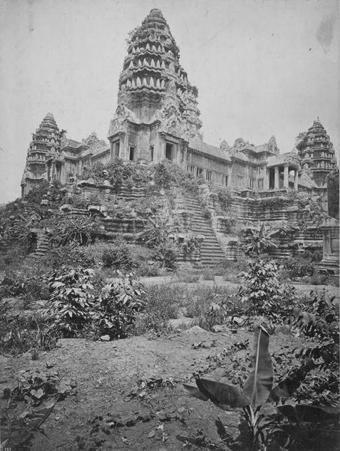 All The Girls Standing In The Line For The Bathroom: The First Photographs Of The Temples Of Angkor