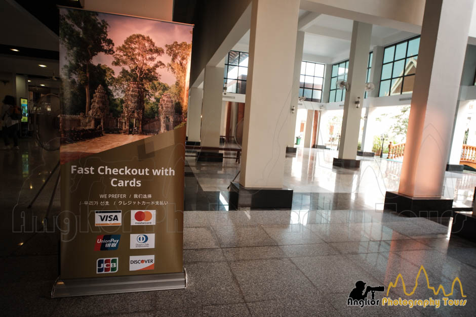 angkor ticket office credit cards