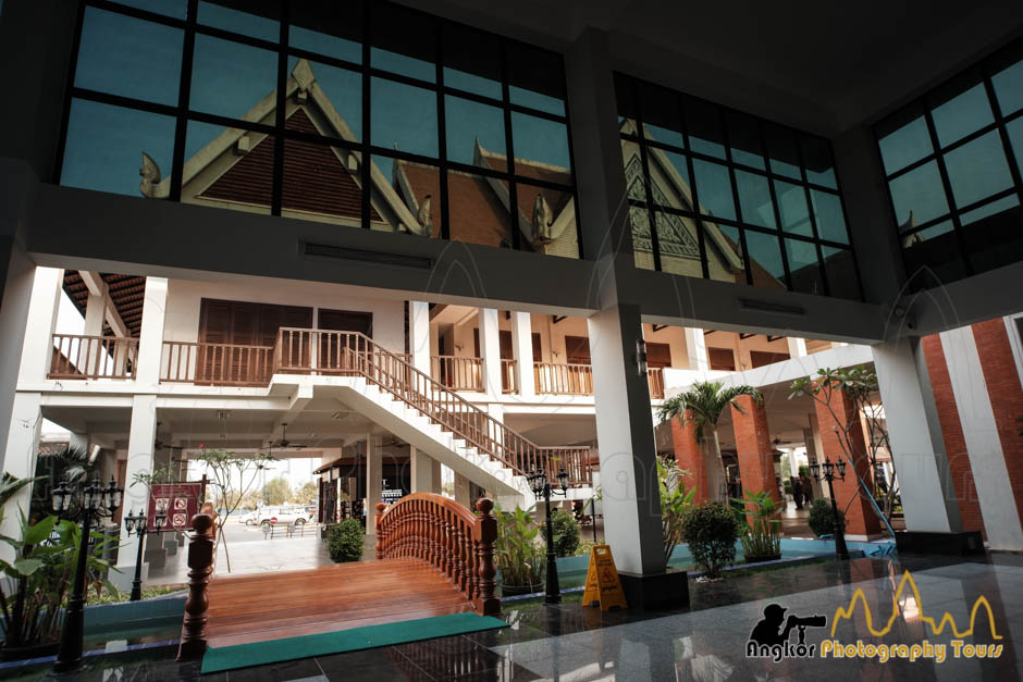 angkor ticket office interior